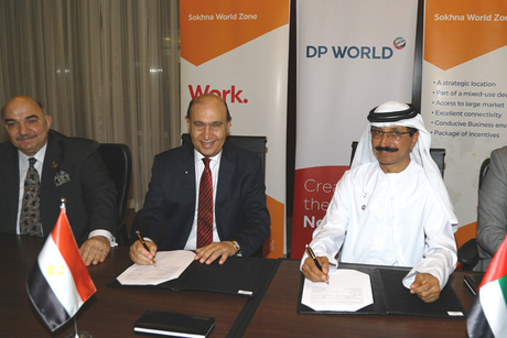 DP World inks deal for Phase 1 of Suez Canal industrial zone