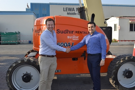 Sudhir Power expands UAE fleet with JLG lifts