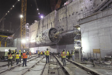 Qatar Rail's TBMs finish tunnelling on Doha Metro