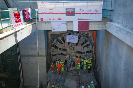 Doha Metro tunnelling reaches 77% completion