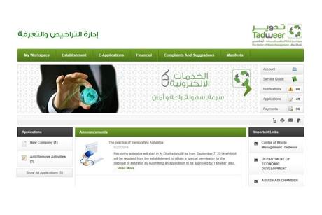 UAE waste body Tadweer updates e-Services platform