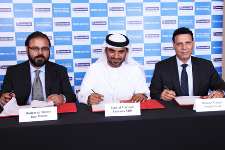 UAE: Tata, United Diesel partner with Emirates NBD