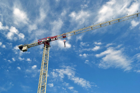 Terex launches 80m jib, 20-tonne flat top tower crane
