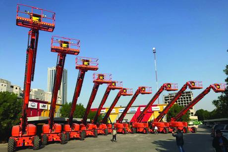 Saudi's Bin Quraya Rental receives delivery of Genie boom-lifts