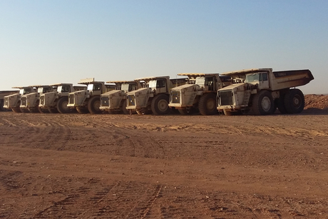 Comedat deploys 90 Terex Trucks to Jordanian mines