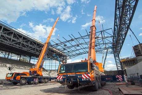Going mobile: Jörg Müeller on Terex's Demag all-terrain cranes