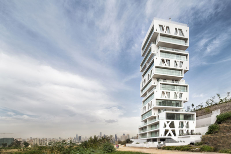 Construction work completes at Beirut's The Cube