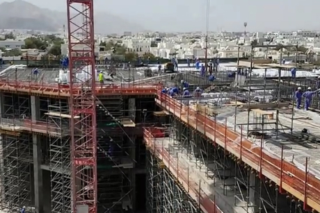 Video: A view of The Waterfront's worksite in Oman