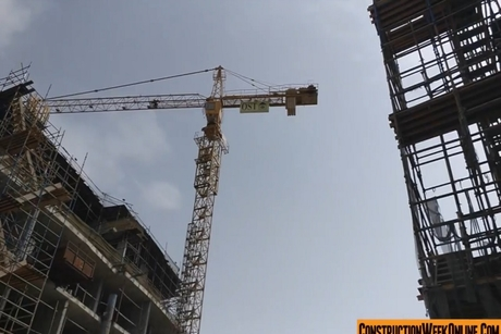 Video: Construction update of Dubai's The Waves homes