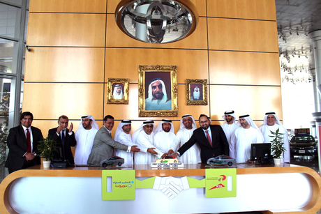 Dubai Taxi receives 554 Toyota hybrid electric vehicles