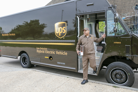 UPS targets 25% alternative fuel, advanced tech vehicle purchases by 2020