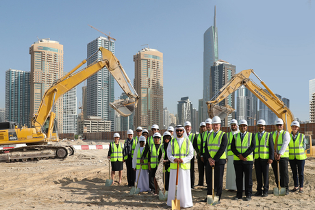 Construction begins on new mixed-use district near Dubai's JLT