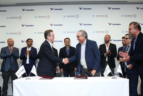 Valvoline appoints ZAFCO as its distributor in the UAE