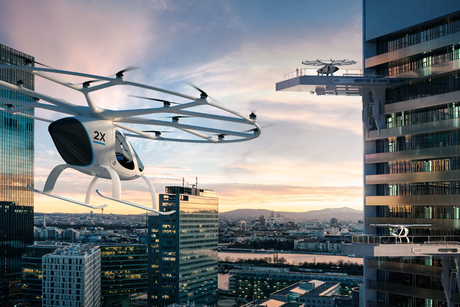 Daimler helps fund startup bringing self-flying taxis to Dubai