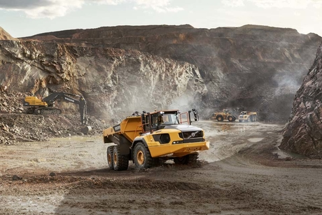 Volvo CE manufactures its 75,000th articulated hauler