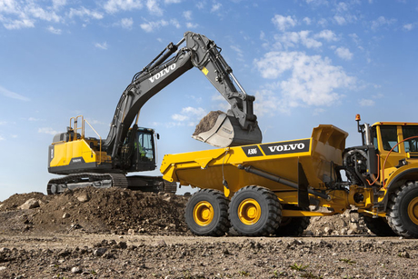 Volvo CE sees 20% net sales growth in Q4 2016