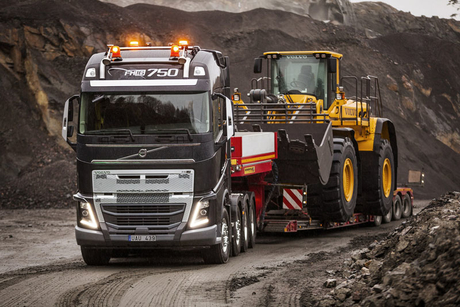 Volvo rolls out severe-duty features for trucks