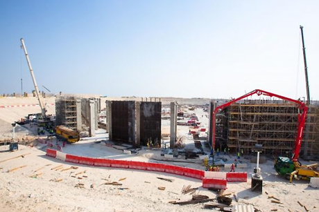 Qatar's Al Bayt World Cup stadium takes shape