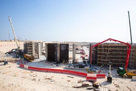 Qatar's Al Bayt World Cup stadium takes shape