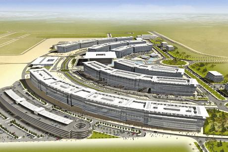 How is Al Maktoum International Airport financed?