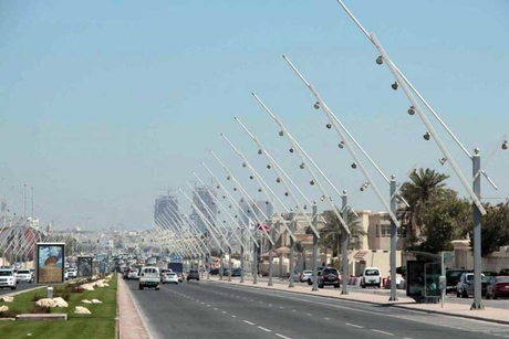 Doha Metro Gold Line works lead to road closure