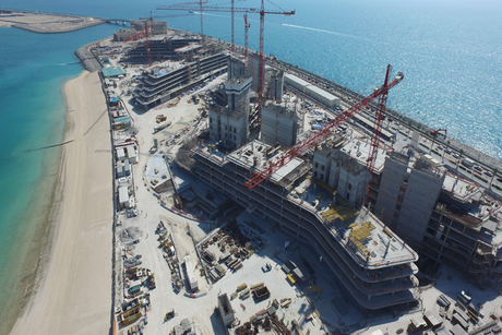 Alef Residences' structural works near completion