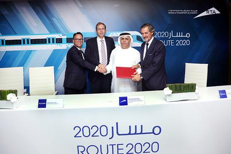 Alstom consortium wins Dubai Metro extension deal