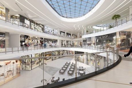 Dubai's Art of Living Mall reaches 70% completion