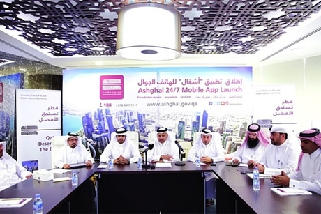 Qatar's Public Works Authority launches Ashghal 24/7 mobile app