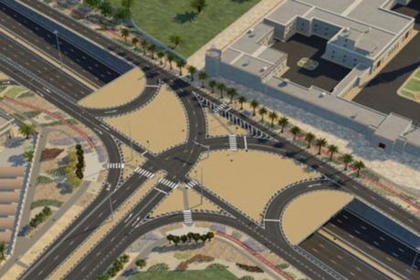 Doha: major Al Kharaitiyat Interchange opens