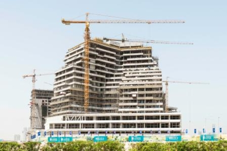 Finishing works underway for $128m Azizi healthcare city project