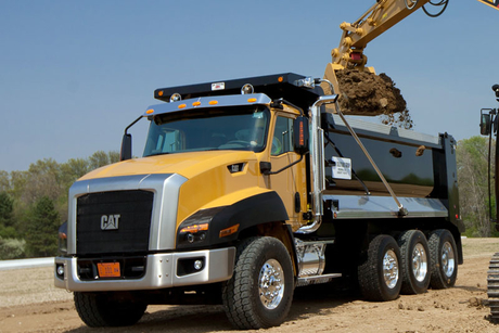 Caterpillar to end on-road dump truck production