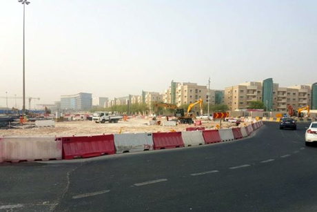 Ashghal: Civil Defense junction nears completion