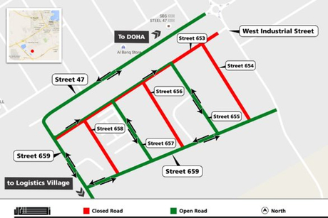 Qatar: Ashghal implements year-long road closures