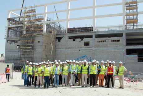Khalifa International Stadium hosts IMIA group