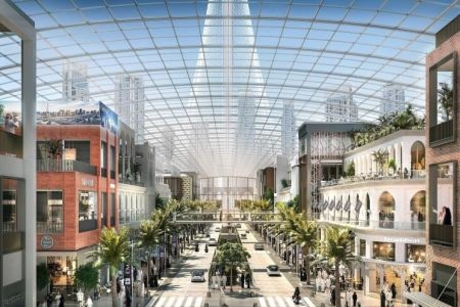 UAE property giants launch mega retail district at Dubai Creek