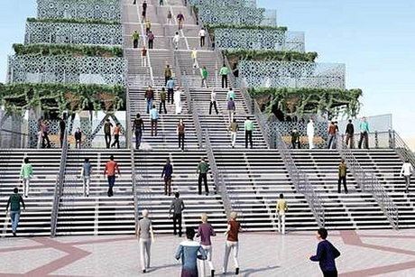Here's what Dubai Steps project will look like...