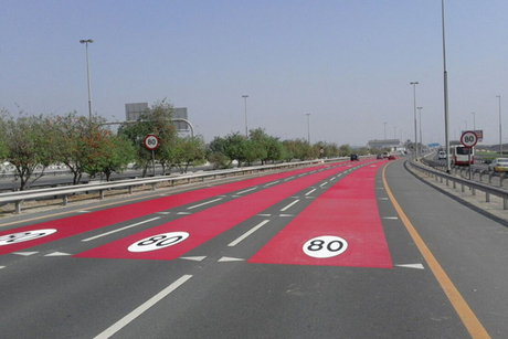 RTA uses Evonik's road-marking products on major highway