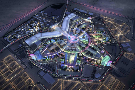 Revealed: The masterplan for the Expo 2020 site