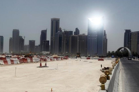 Qatar: Works underway at upcoming Ezdan Oasis