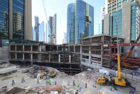 Gate Avenue at DIFC reaches 85% completion