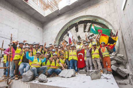 Doha Metro Green Line tunnelling now complete