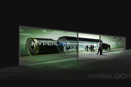 Hyperloop concept to support Expo 2020 vision