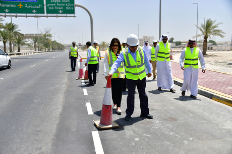 Bahrain opens new entrance to Isa Town educational district