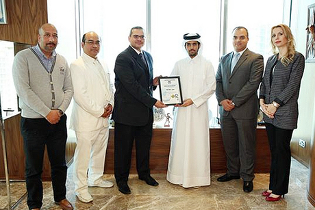 Qatar's Gettco Construction is ISO certified