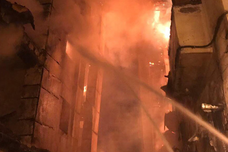 Fire in Jeddah's historic district controlled after building collapse