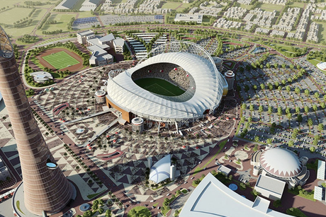Death on FIFA 2022 World Cup stadium