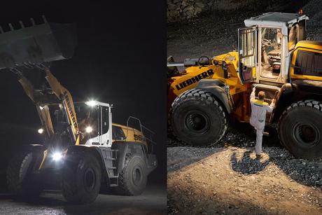 Liebherr introduces adaptive lighting on XPower wheel loaders
