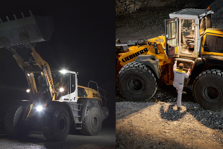 Liebherr introduces adaptive lighting on XPower wheel loaders
