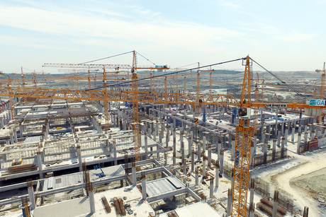 Video: 58 Liebherr cranes at Istanbul New Airport